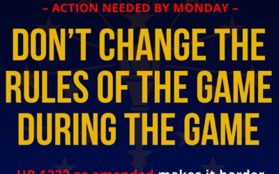 Action Alert – Call Or Email Before Monday Morning