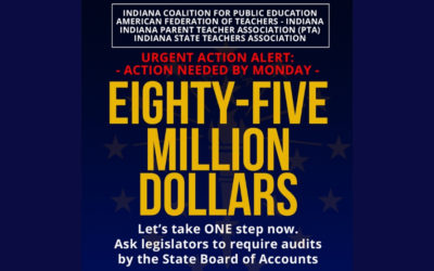 Joint Call To Action – Require State Board of Accounts audits for state-funded schools