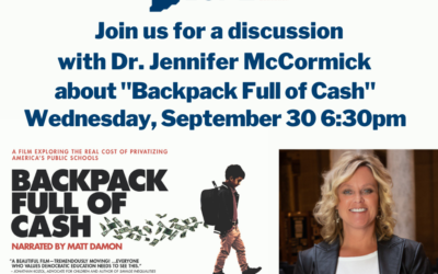Backpack Full Of Cash panel discussion with Dr. McCormick