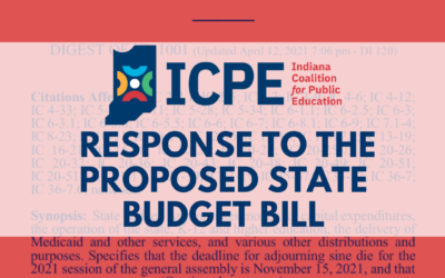 ICPE Response to Indiana's Proposed Budget Bill