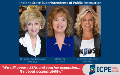 It's about accountability: Why we still oppose private school ESAs and voucher expansion